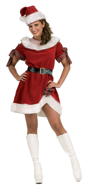 Adult Ms. Santa Costume
