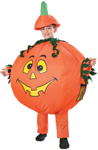 Kids Inflatable Pumpkin Halloween Costume