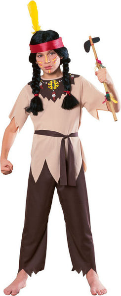 Kids Native American Warrior Costume
