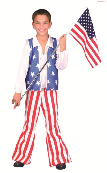 Child Patriotic Hero Costume