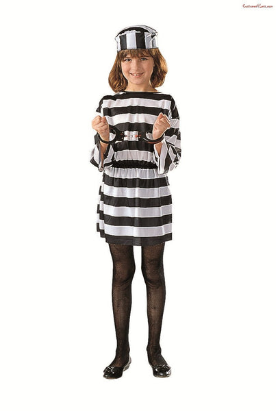 Girl Convict Costume