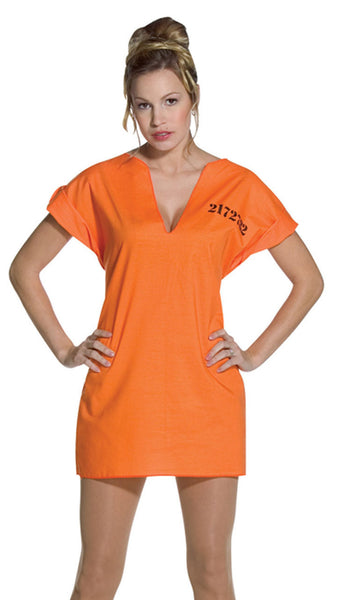 Adult Jailhouse Dress