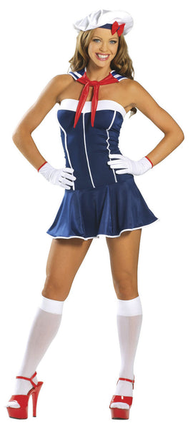 Adult 3pc Sexy Sailor Costume