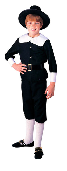Kids Pilgrim Boy Costume R-10057