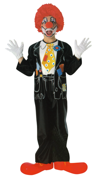 Child Patches The Clown Costume