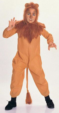 Kids Cowardly Lion Costume R-18599