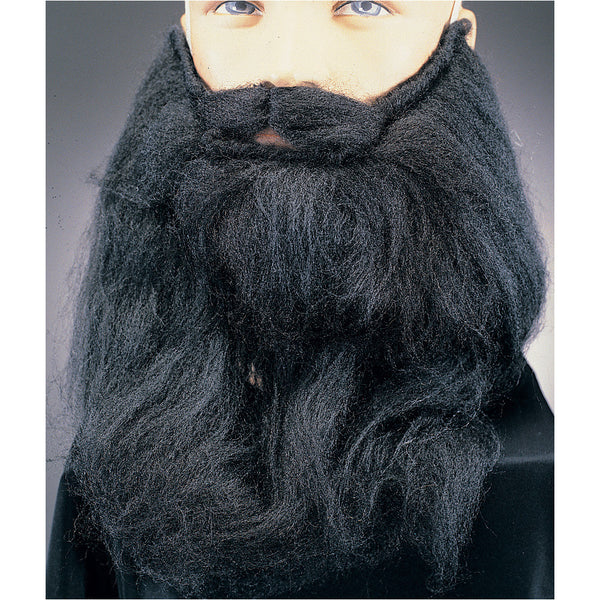 14 in. Long Mohair Beard & Moustache Set Costume R-2439