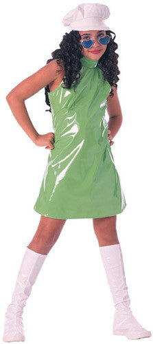 Child Lime Go-Go Girl Costume
