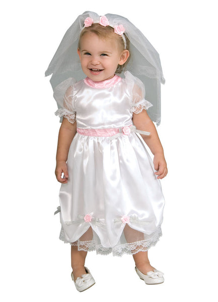 Bride Toddler Costume