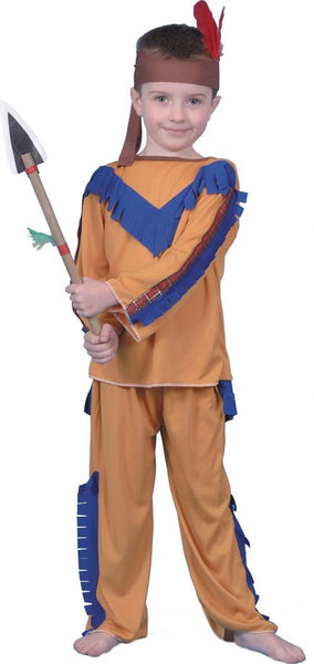 Child Apache Boy Costume