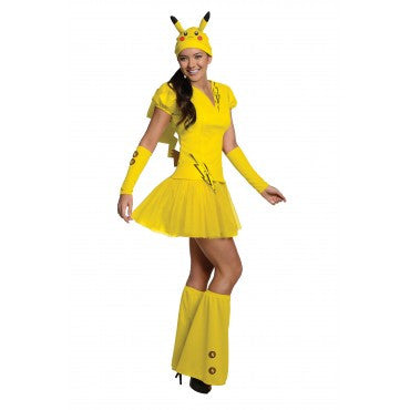 Women's Pikachu Pokemon Costume
