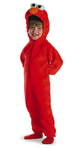 Kids Elmo Costume - Deluxe Two-Sided Plush