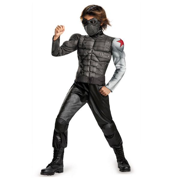 Kids Winter Soldier Classic Muscle Costume