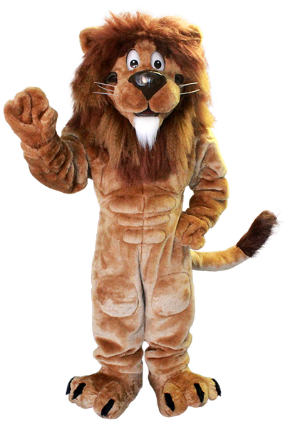 Cartoon Lion Mascot