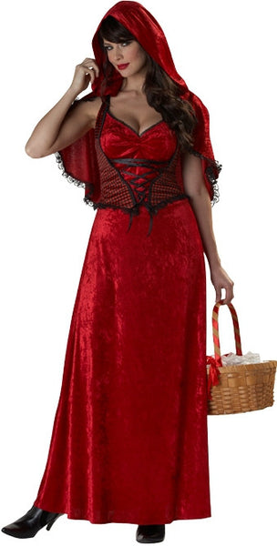 Adult Miss Red Costume