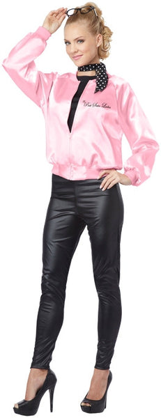 Adult The Pink Satin Ladies Costume