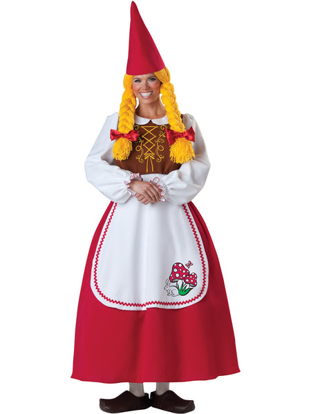 Adult Mrs. Garden Gnome Costume
