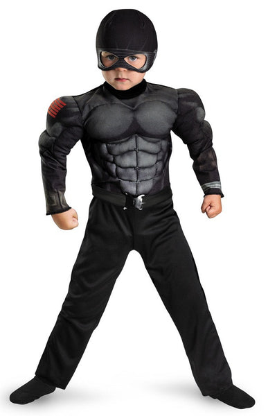 Toddler Muscle Snake Eyes Costume
