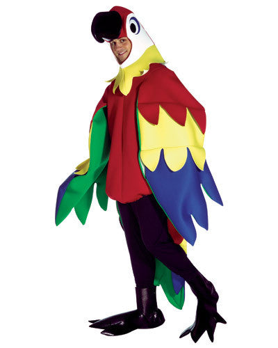 Adult Deluxe Parrot Costume