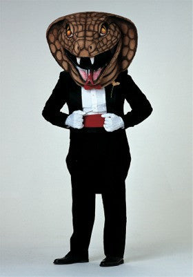 Dressed to Kill Mascot (Head Only)
