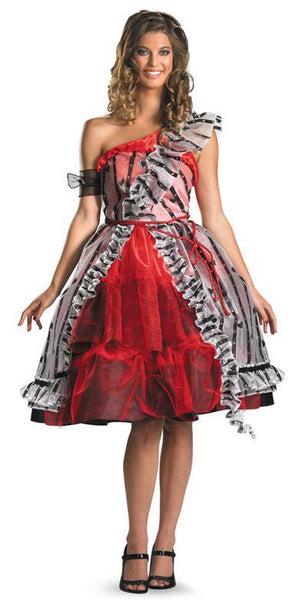 Adult Alice in Wonderland Red Court Costume