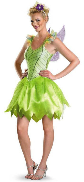 Adult Tinkerbell Rainbow Deluxe Costume