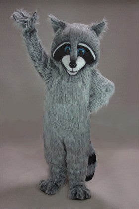 Friendly Raccoon Mascot