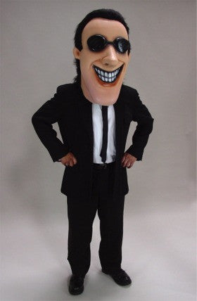 Man in Black Mascot (Head Only)