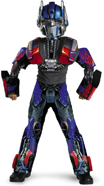 Kids Optimus Prime 3-D Deluxe Costume