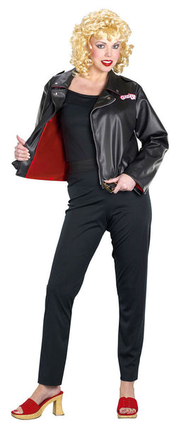 Adult Sandy's Deluxe Leather jacket Costume