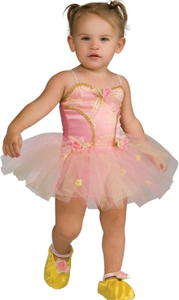 Pink Rose Ballerina Toddler Costume