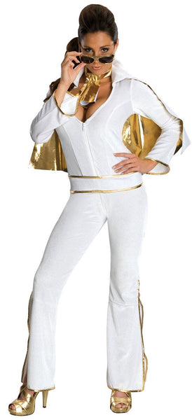 Adult Female Elvis Presley Deluxe Costume