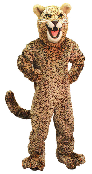 Whimsical Jaguar Mascot