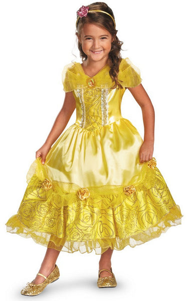 Kids Belle Sparkle Deluxe Costume