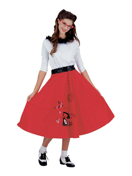 Adult Jitterbug Girl Costume