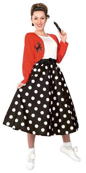 50's Polka Dot Rocker Costume