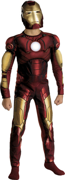 Kids Iron Man Muscle Chest Costume