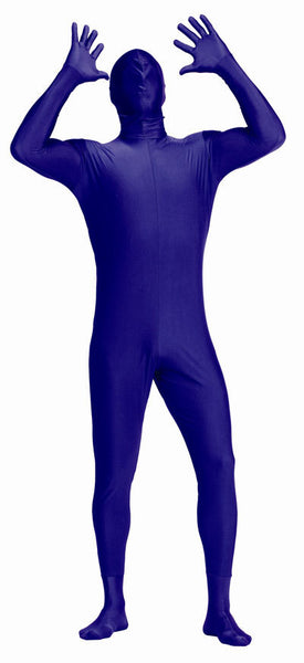 Adult Purple Invisible Man Costume