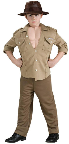 Kids Indiana Jones Muscle Chest Costume