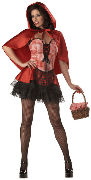 Adult Red Hot Riding Hood Costume