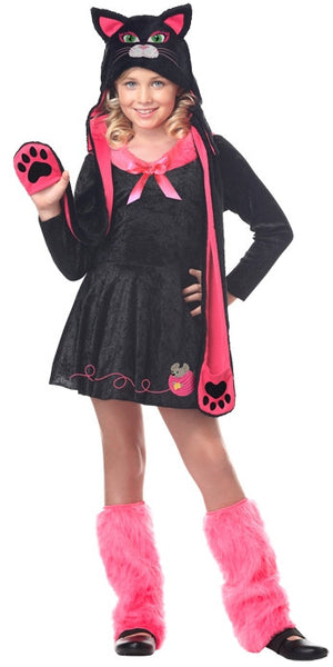 Kids Sassy Cat Costume