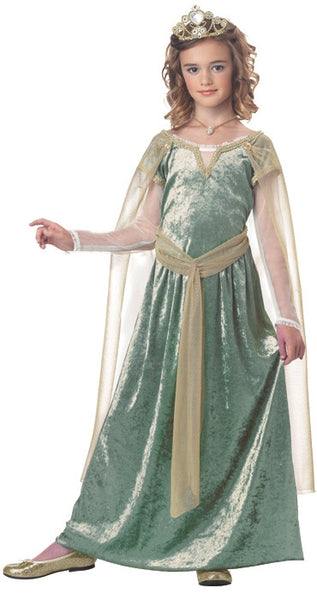 Kids Queen Guinevere Costume