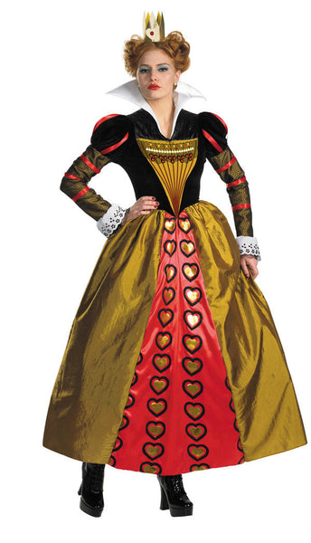 Adult Red Queen Deluxe Costume