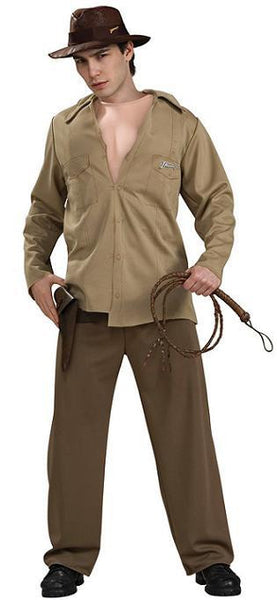 Adult Indiana Jones Muscle Chest Costume