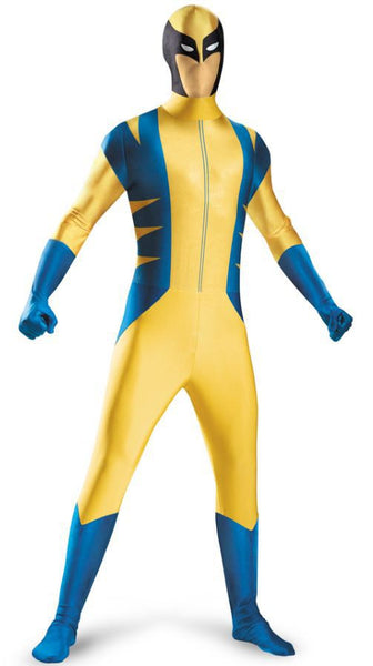 Wolverine Body Suit Deluxe Costume