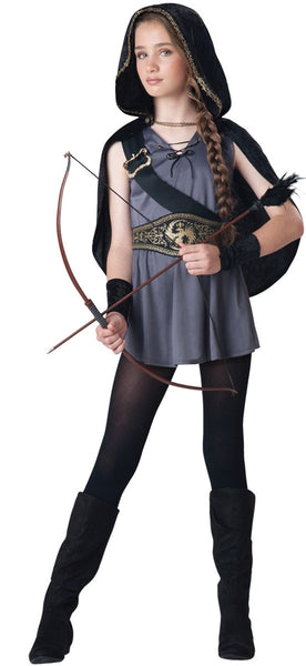 Tween Hooded Huntress Costume