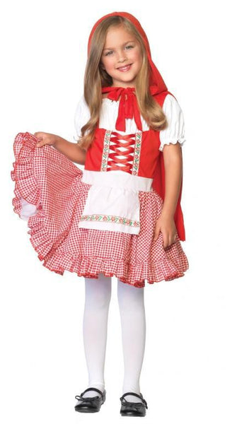 Kids Lil' Miss Red Costume