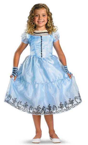 Kids Alice in Wonderland Deluxe Costume
