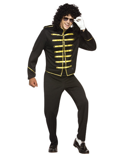 Adult Pop Star Michael Jackson Costume