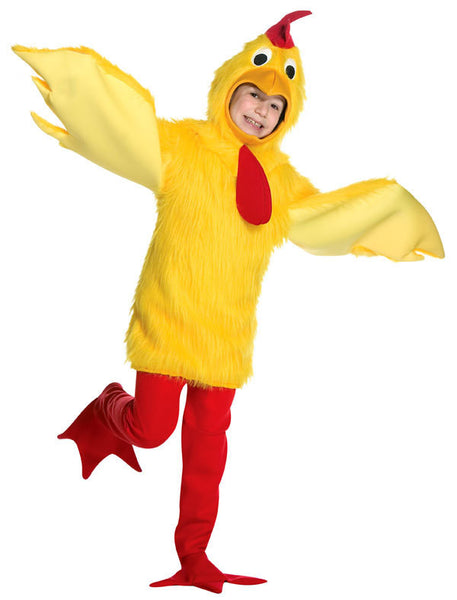 Fuzzy Chicken Kids Costume